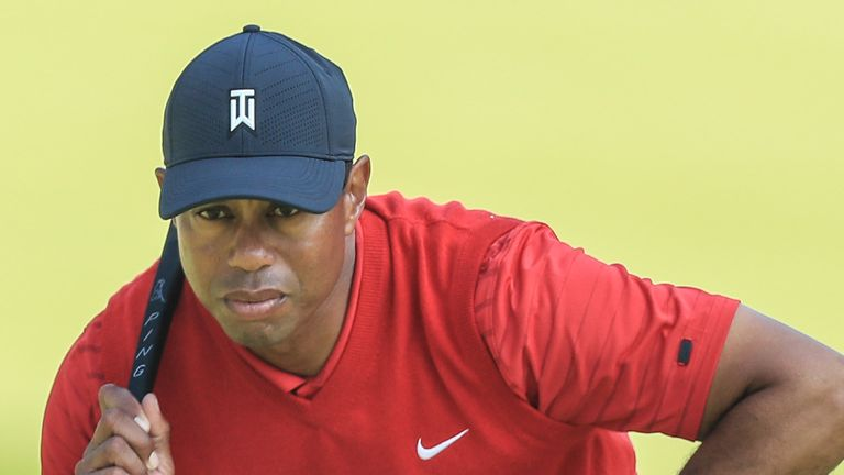 Woods' last PGA Tour victory came at the ZOZO Championship in October