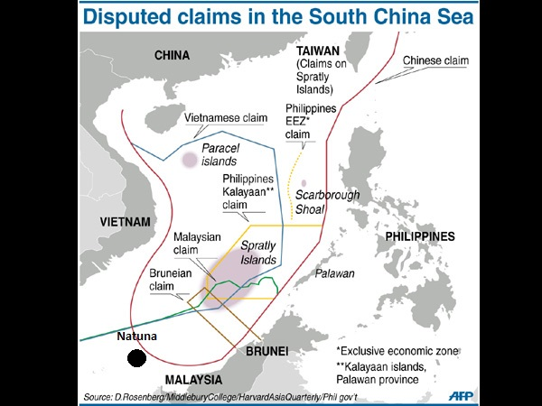 China accuses US of sowing discord in South China Sea