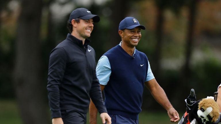 McIlroy is looking for his first win of 2020, while Woods is making only his third PGA Tour appearance of the year