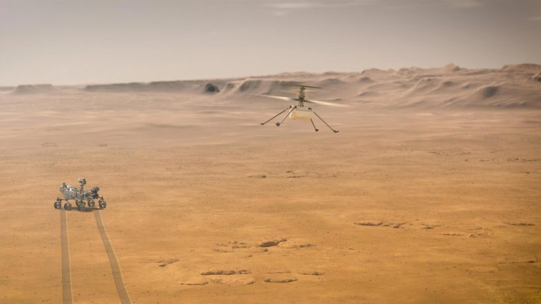 NASA Ingenuity Mars Helicopter Red Planet