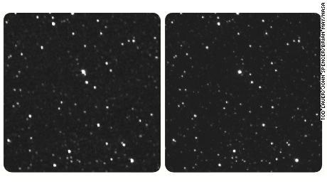 NASA spacecraft sends back images of stars from 4.3 billion miles away