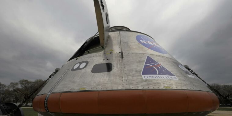 NASA's inspector general report roasts Lockheed Martin for Orion fees