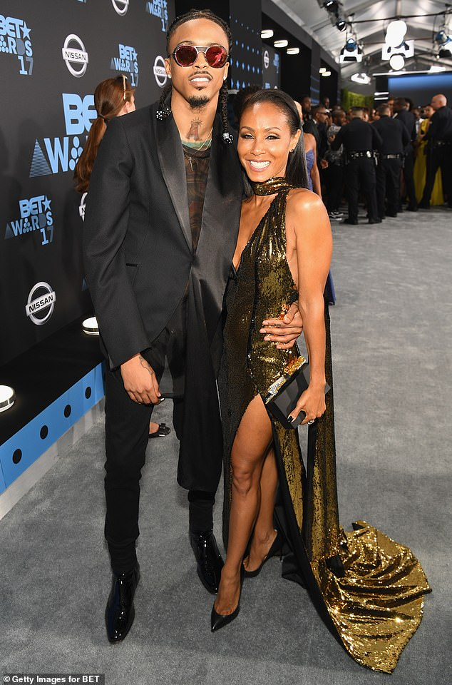 Exactly:'I don't know why that word is such an issue. I would agree [with Jada]. If you look up the definition of 'entanglement,' it is a complex and difficult relationship. It was exactly that,' explained the 27-year-old singer August and Jada in 2017