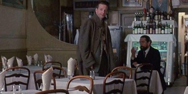 Mickey Rourke (left) and Robert De Niro in 'Angel Heart.'