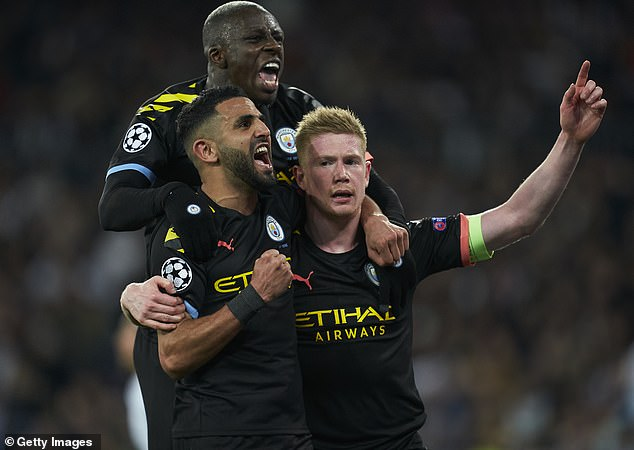 City have two league games remaining but Guardiola is focused on the Champions League