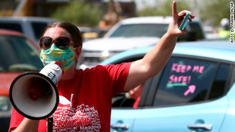 Health care professionals and school board members warn Arizona governor returning to school isn't safe