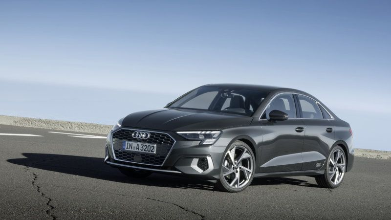 2022 Audi A3 sedan increases output, but no Sportback for us