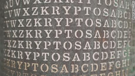 There's a message hidden in a piece of art at CIA headquarters that top code breakers have been trying to decipher for 30 years. No luck yet.