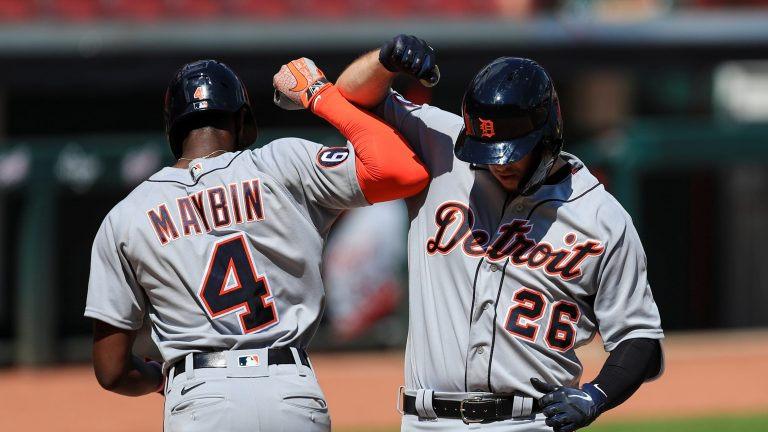 Detroit Tigers squeeze by Cincinnati Reds, 3-2, on C.J. Cron home run