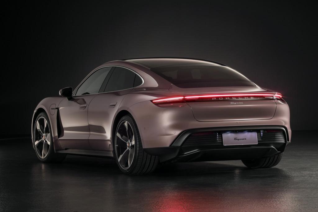 Porsche Taycan base model (China spec) - June 2020