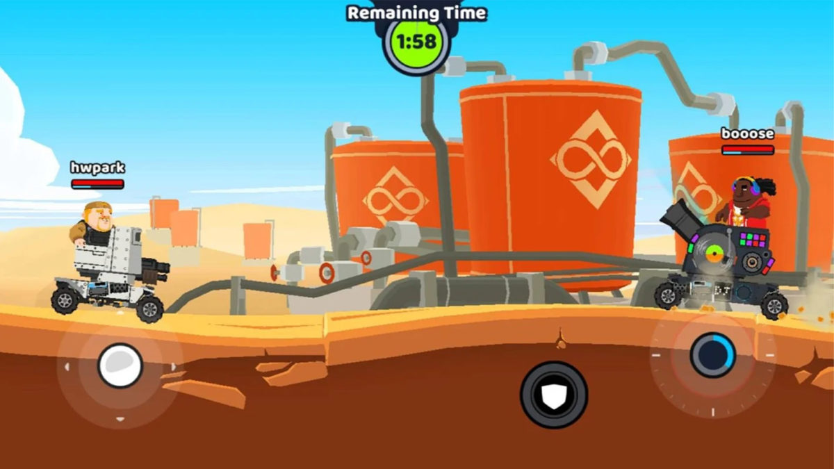 AAW Super Tank Blitz screenshot