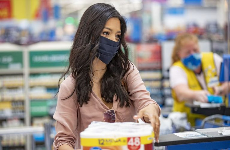 Alaskans react to Walmart face masks requirements going into effect