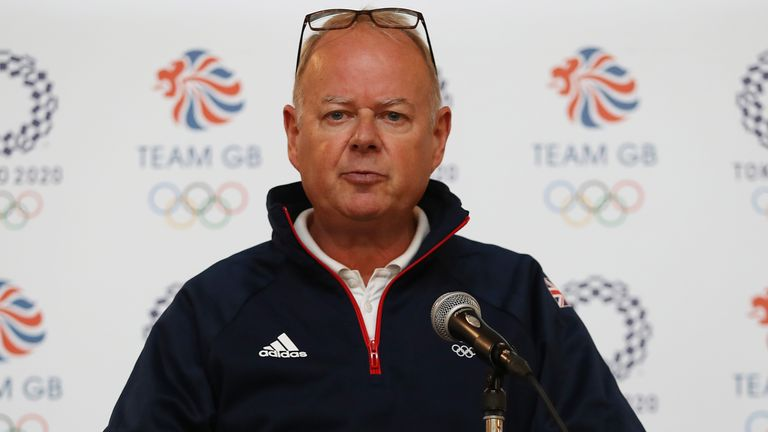 Team GB chef de mission Mark England says they will support athletes who choose to take a knee at the Tokyo Olympics