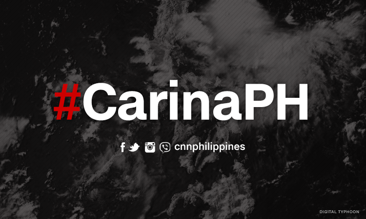 Carina maintains strength as it approaches Batanes