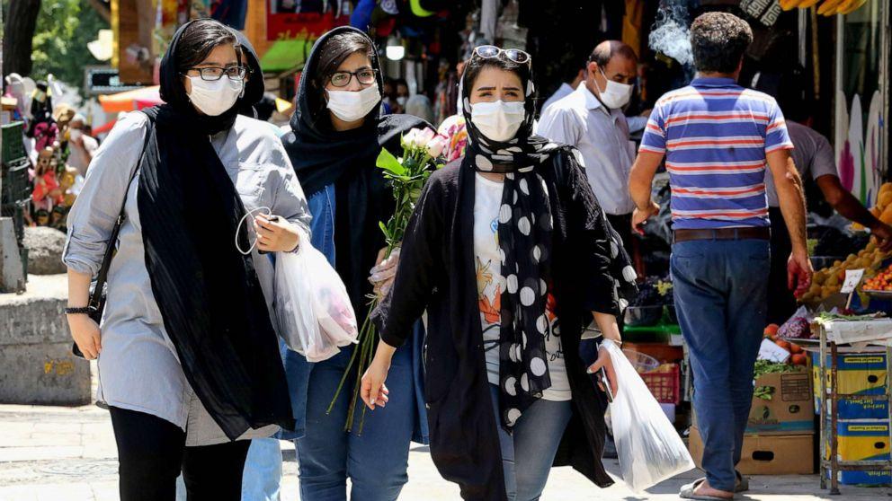 Coronavirus live updates: 25 million infected in Iran, president says