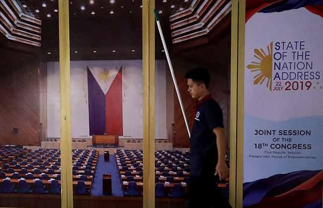 Duterte to deliver SONA at Batasan – The Manila Times