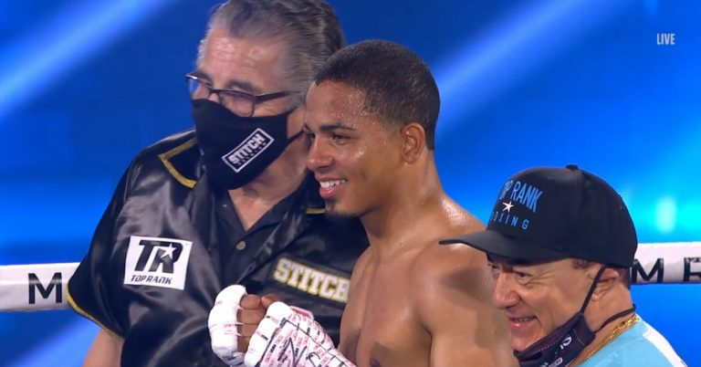 Felix Verdejo smashes Will Madera in first round, wants Lomachenko