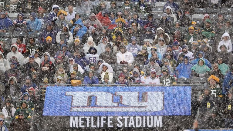 Giants and Jets fans won't be allowed at games