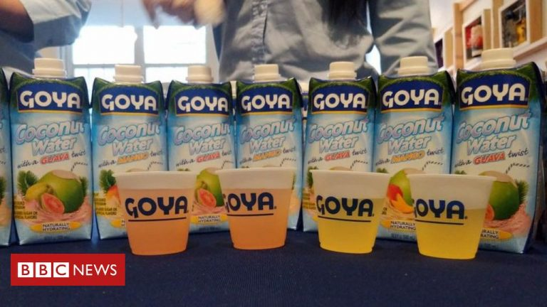 Goya Foods: Hispanic brand faces boycott for praising Trump