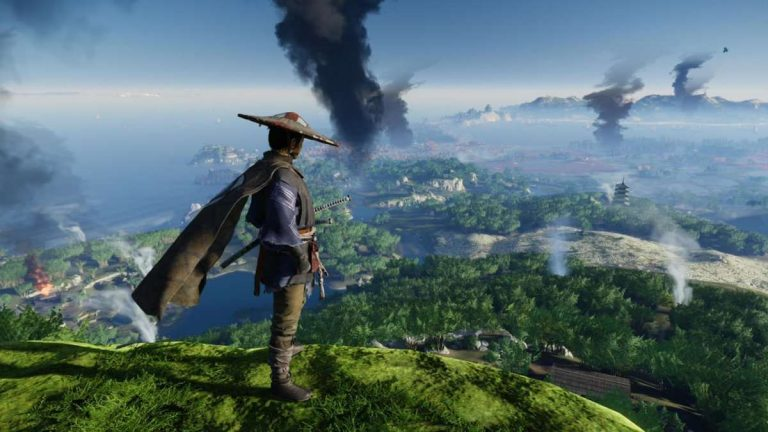 In Ghost Of Tsushima, Being Stealthy Actually Changes The Weather