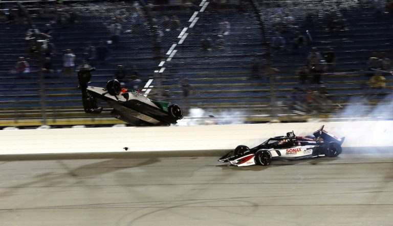 IndyCar's aeroscreen passes its first real test at Iowa