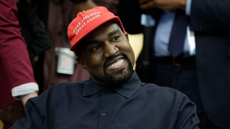 Kanye West tweets he 'can beat Biden off of write ins'