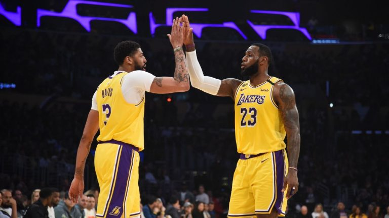 Lakers coach Frank Vogel lobbies for LeBron James to win MVP and Anthony Davis the Defensive Player of the Year Award