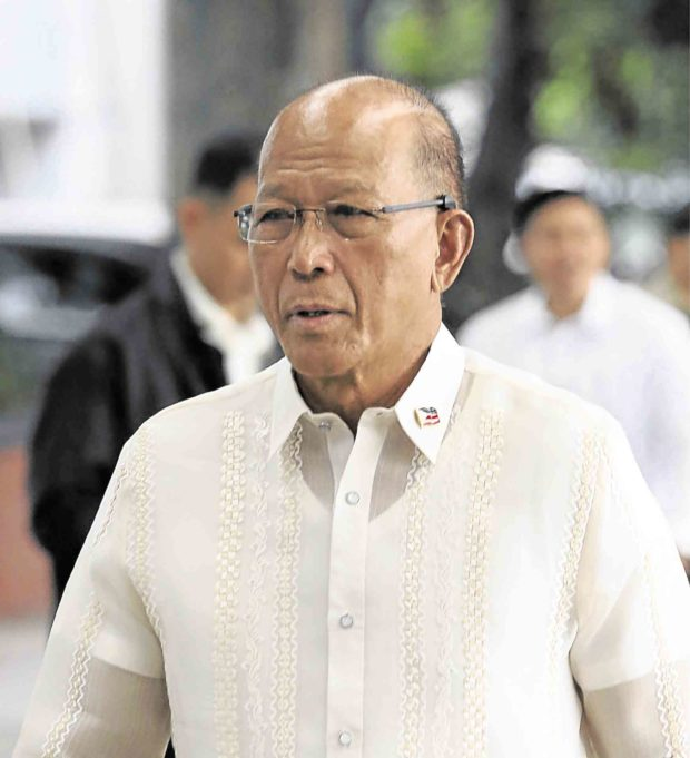 Lorenzana goes on self-quarantine after staffer tests positive for COVID-19