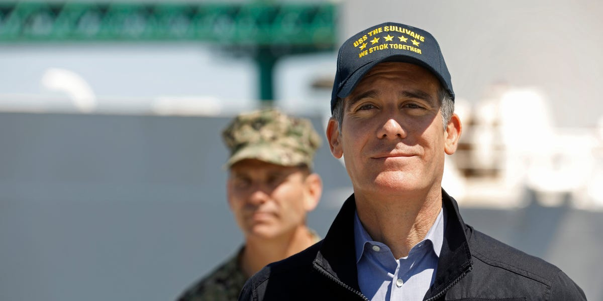 Los Angeles Mayor Eric Garcetti says city is on the brink of stay-at-home order