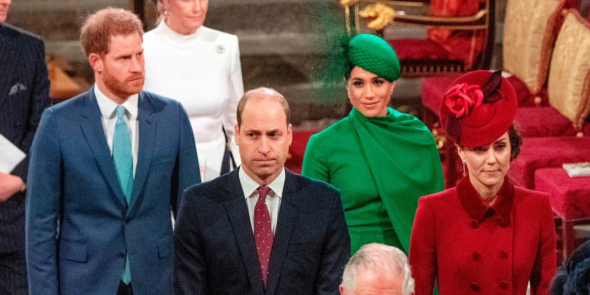 Meghan Markle and Prince Harry barely spoke to William and Kate, book says