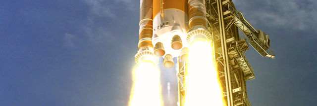 """NASA chief says he's """"very confident"""" in a 2021 launch date for SLS, but…"""
