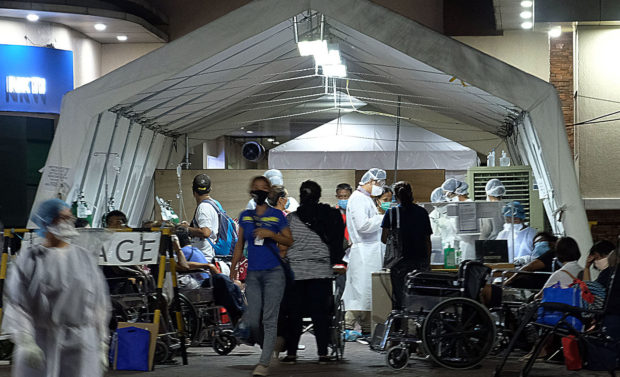 NKTI calls for help as its COVID-19 facility reaches full capacity