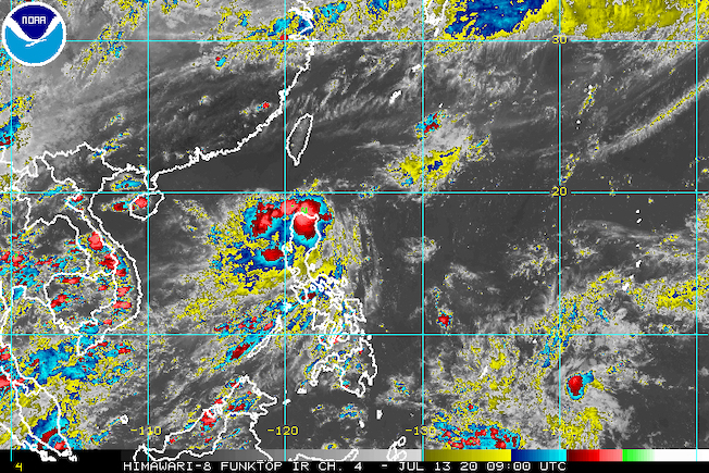 Tropical Depression Carina heads for Luzon Strait, landfall still possible
