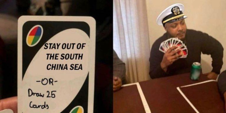 US Navy makes South China Sea memes as it challenges China
