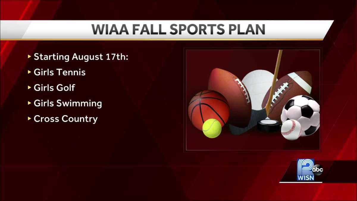 WIAA sets start dates for fall high school sports