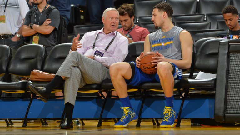 Warriors' Klay Thompson responds to Jerry West's comments about him