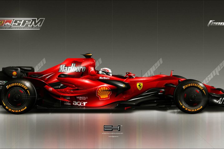 F1 car Image