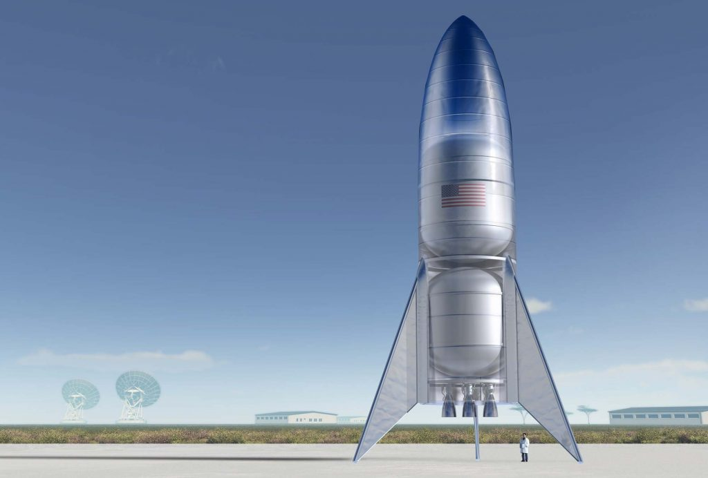 SpaceX Starhopper
