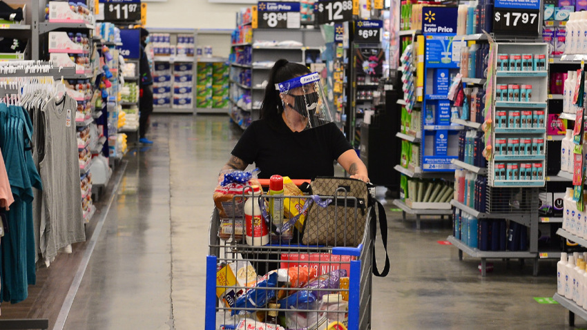 Pandemic helped drive Walmart e-commerce sales up 97% in second quarter