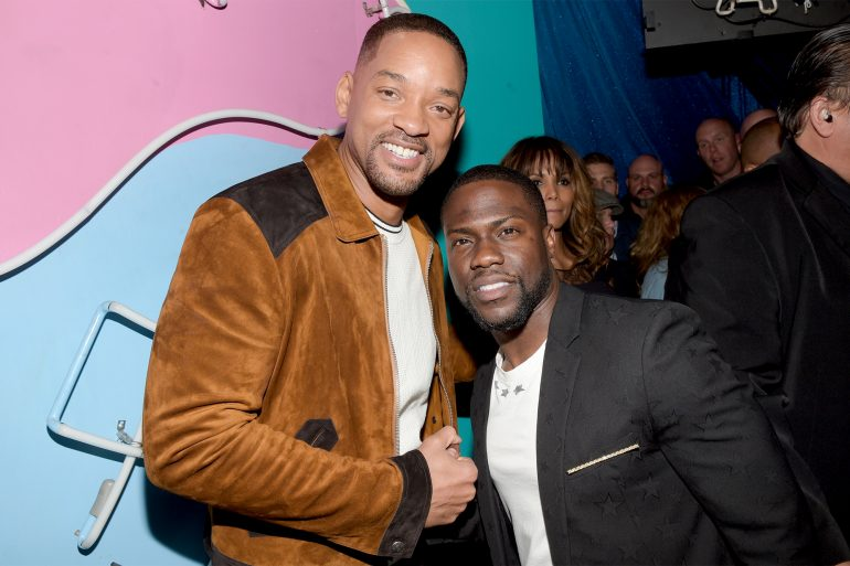 Kevin Hart and Will Smith