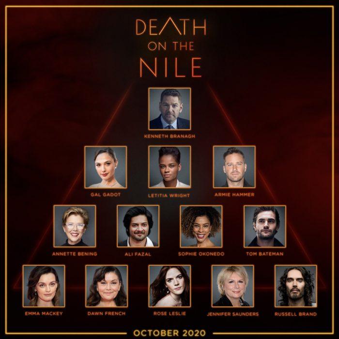 Death On The Nile Cast