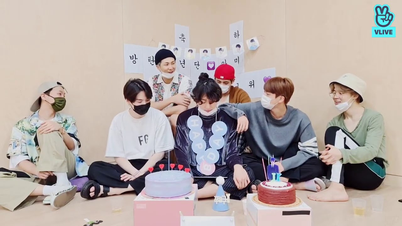 BTS V-live