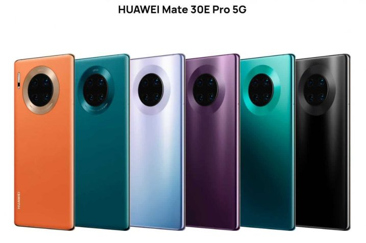 Huawei Mate 30E Pro Specification and Features