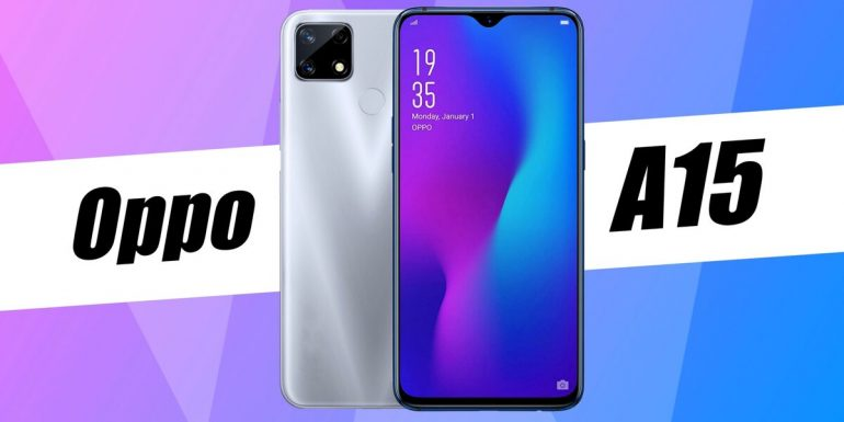 Oppo A15 feature and Specification
