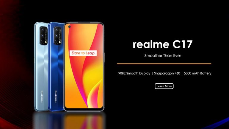 Realme C17 Specification and Features