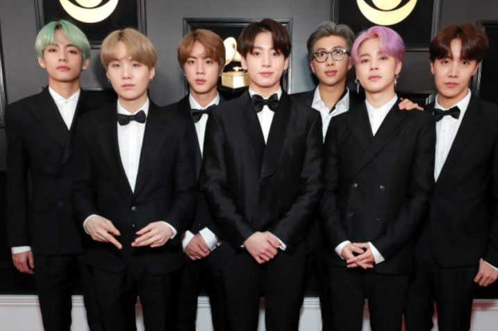 BTS Grammy