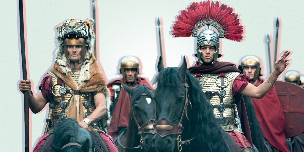 Barbarians From The Roman Empire