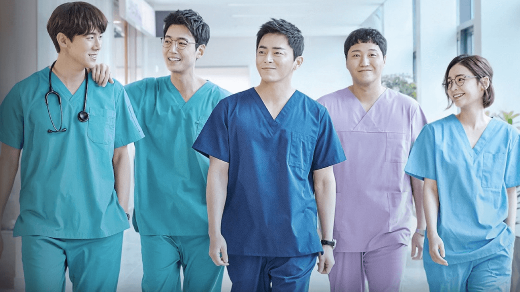Hospital Playlist Season 2: Characters In Matching Outfits