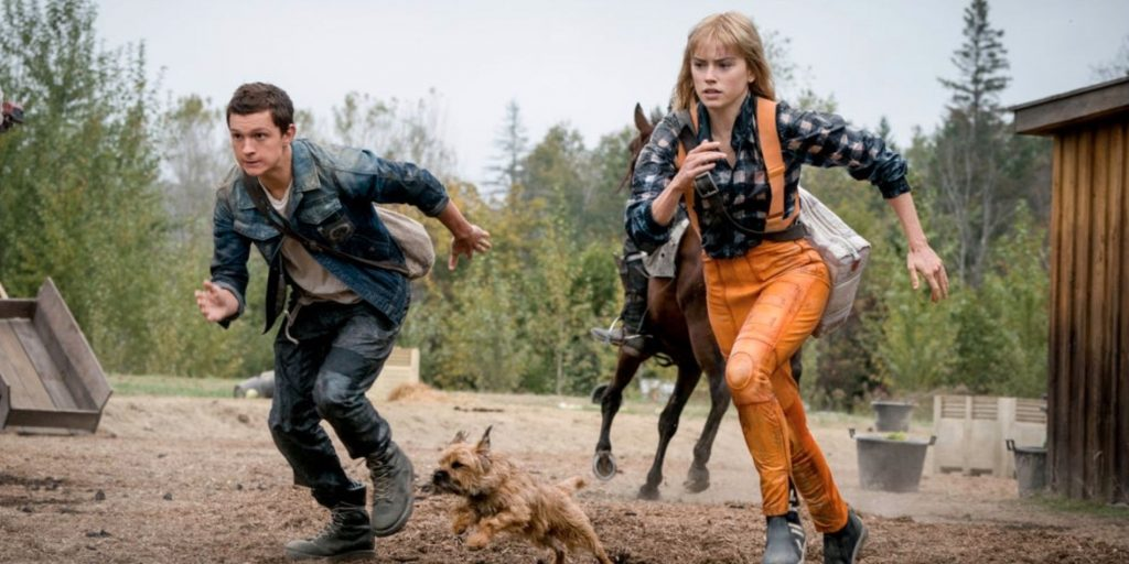 Chaos Walking featuring Tom Holland And Daisy Ridley