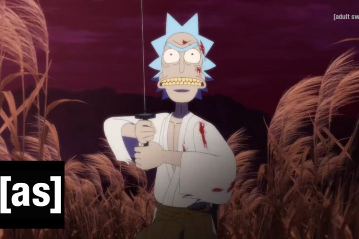 Rick And Morty Anime Short